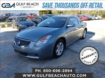 2009 Nissan Altima for sale at GULF BEACH AUTO INC in Pensacola FL