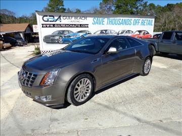 2012 Cadillac CTS for sale at GULF BEACH AUTO INC in Pensacola FL