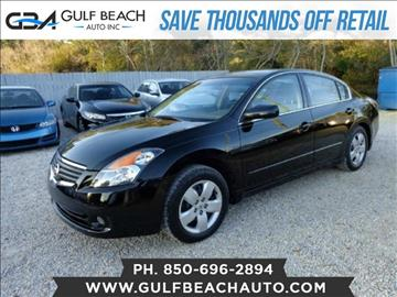 2007 Nissan Altima for sale at GULF BEACH AUTO INC in Pensacola FL