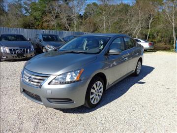 2013 Nissan Sentra for sale at GULF BEACH AUTO INC in Pensacola FL