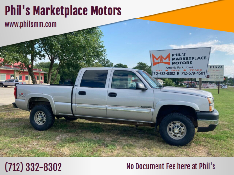 2007 Chevrolet Silverado 2500HD Classic for sale at Phil's Marketplace Motors in Arnolds Park IA