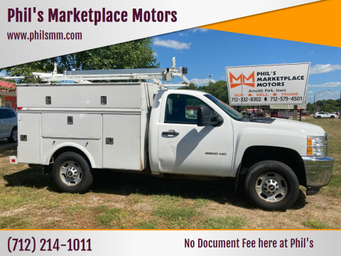 2013 Chevrolet Silverado 2500HD for sale at Phil's Marketplace Motors in Arnolds Park IA