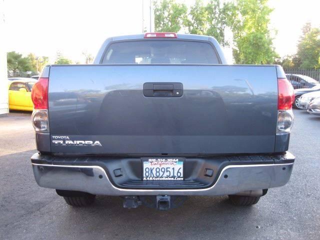 2007 Toyota Tundra SR5 4dr CrewMax Cab SB (5.7L V8) - Sacramento CA