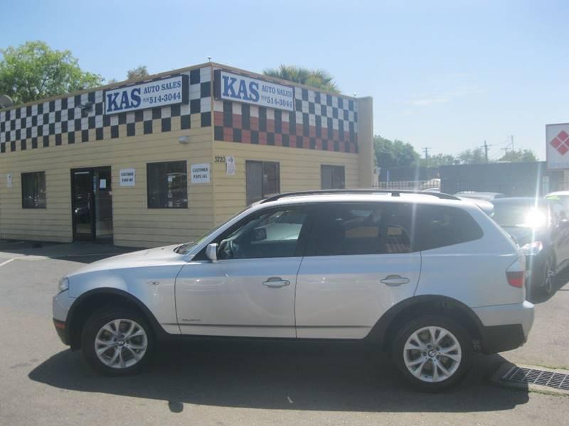 2009 Bmw X3 AWD xDrive30i 4dr SUV In Sacramento CA - KAS Auto Sales