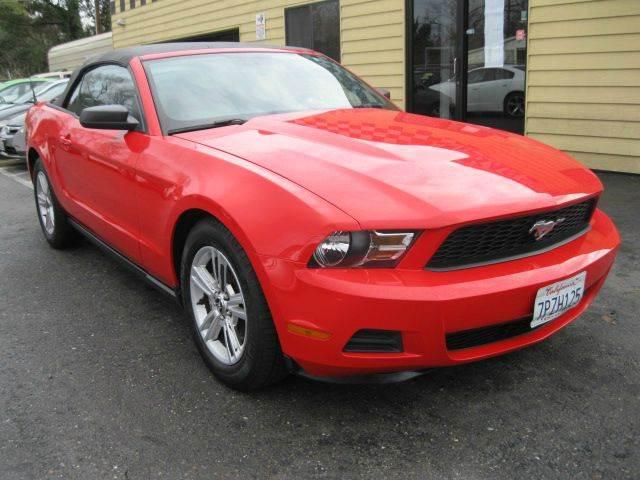 2012 Ford Mustang V6 2dr Convertible - Sacramento CA