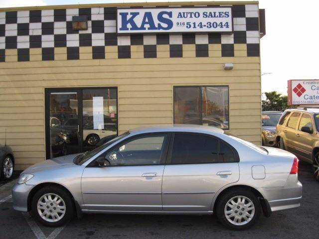 2005 Honda Civic LX 4dr Sedan - Sacramento CA