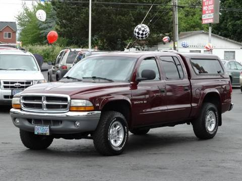 2000 Dodge Dakota for sale at Lee Murphy Auto Sales Inc in Cornelius OR