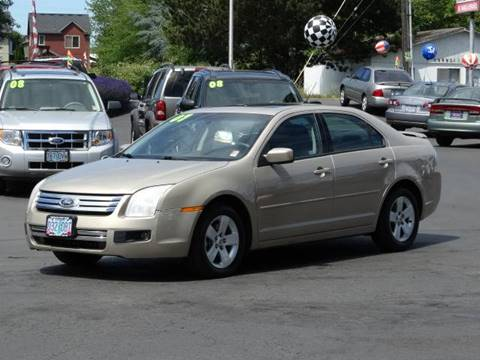 2007 Ford Fusion for sale at Lee Murphy Auto Sales Inc in Cornelius OR