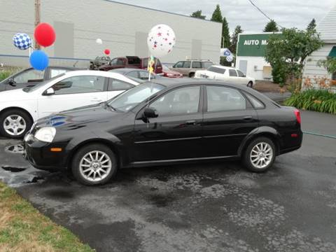 2005 Suzuki Forenza for sale at Lee Murphy Auto Sales Inc in Cornelius OR