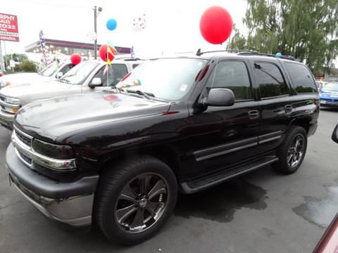 2006 Chevrolet Tahoe for sale at Lee Murphy Auto Sales Inc in Cornelius OR
