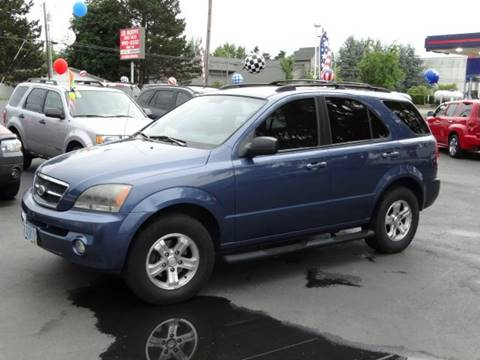 2006 Kia Sorento for sale at Lee Murphy Auto Sales Inc in Cornelius OR