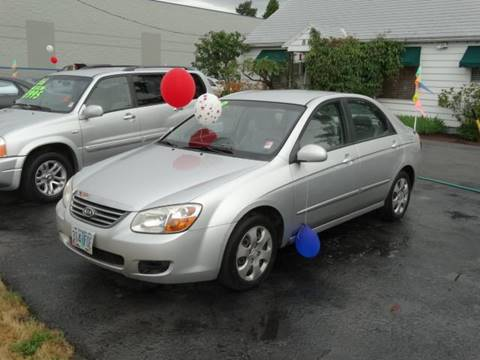 2008 Kia Spectra for sale at Lee Murphy Auto Sales Inc in Cornelius OR