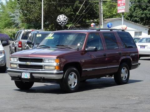 1996 Chevrolet Tahoe for sale at Lee Murphy Auto Sales Inc in Cornelius OR