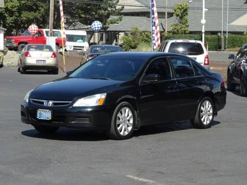 2007 Honda Accord for sale at Lee Murphy Auto Sales Inc in Cornelius OR