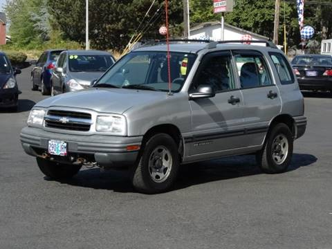 2001 Chevrolet Tracker for sale at Lee Murphy Auto Sales Inc in Cornelius OR
