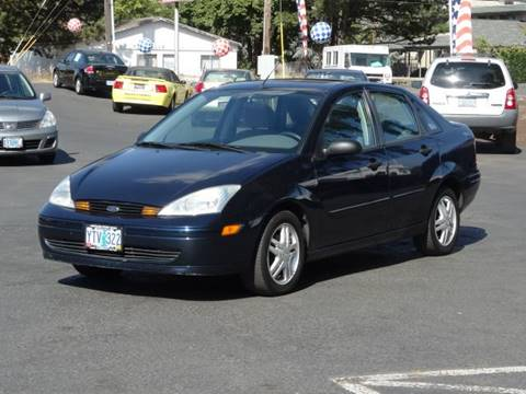 2002 Ford Focus for sale at Lee Murphy Auto Sales Inc in Cornelius OR