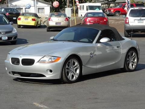 2003 BMW Z4 for sale at Lee Murphy Auto Sales Inc in Cornelius OR