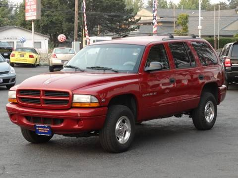 1999 Dodge Durango for sale at Lee Murphy Auto Sales Inc in Cornelius OR