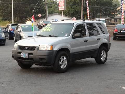 2004 Ford Escape for sale at Lee Murphy Auto Sales Inc in Cornelius OR