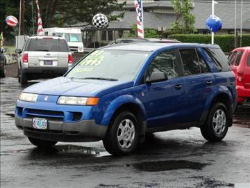 2003 Saturn Vue for sale at Lee Murphy Auto Sales Inc in Cornelius OR