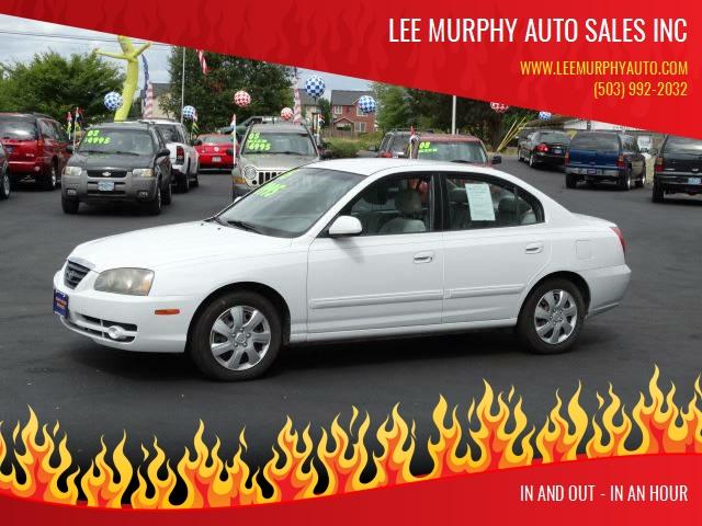 2005 Hyundai Elantra For Sale At Lee Murphy Auto Sales Inc In Cornelius OR