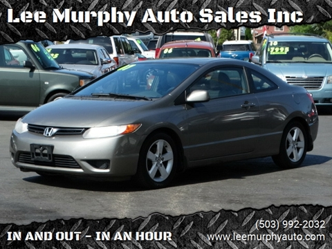 2007 Honda Civic For Sale >> 2007 Honda Civic For Sale In Cornelius Or