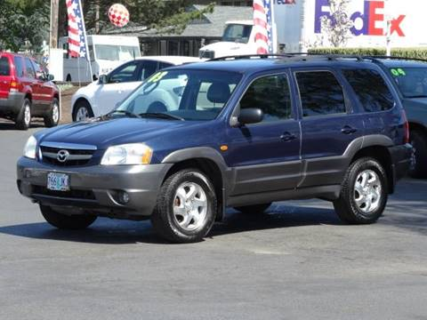 2003 Mazda Tribute for sale at Lee Murphy Auto Sales Inc in Cornelius OR
