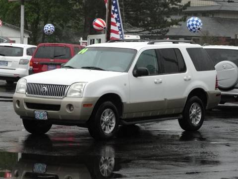 2004 Mercury Mountaineer for sale at Lee Murphy Auto Sales Inc in Cornelius OR