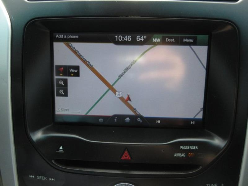 2013 ford explorer xlt navigation system