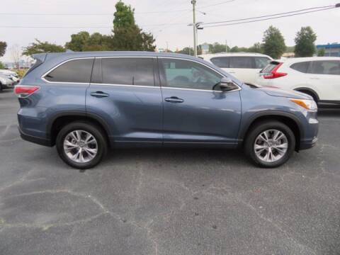 2016 Toyota Highlander for sale at DICK BROOKS PRE-OWNED in Lyman SC