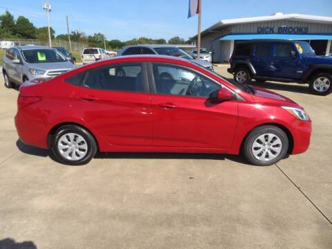 2017 Hyundai Accent for sale at DICK BROOKS PRE-OWNED in Lyman SC