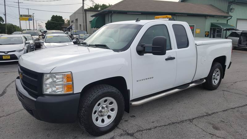 2013 chevrolet silverado 1500 4x4 work truck 4dr extended cab 6 5 ft sb in columbia mo. Black Bedroom Furniture Sets. Home Design Ideas