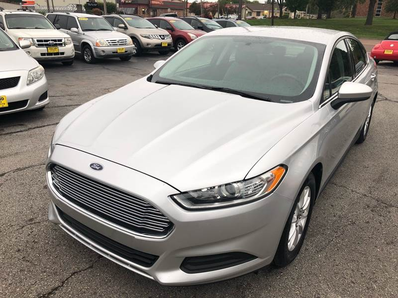 2016 ford fusion s 4dr sedan in columbia mo ashland auto sales. Black Bedroom Furniture Sets. Home Design Ideas