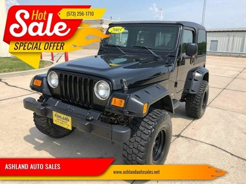 2003 Jeep Wrangler for sale in Columbia, MO