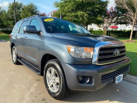 2008 Toyota Sequoia for sale at UNITED AUTO WHOLESALERS LLC in Portsmouth VA
