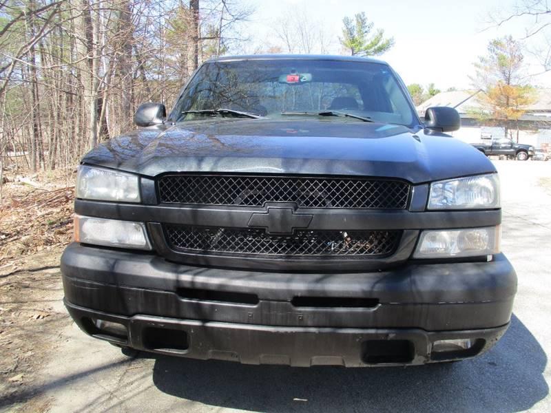 2004 Chevrolet Silverado 1500 4dr Extended Cab Z71 4WD SB - Derry NH