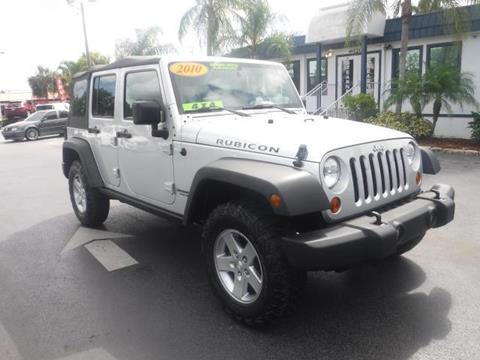 2010 Jeep Wrangler Unlimited for sale in Naples, FL