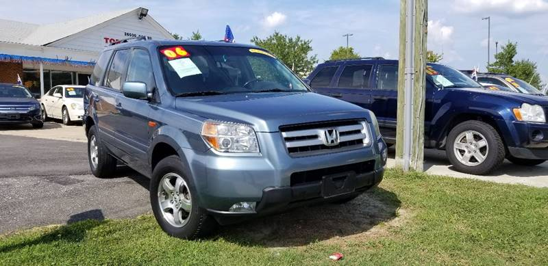 2006 Honda Pilot For Sale At Top Auto Sales In Petersburg VA