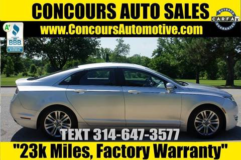 2013 Lincoln MKZ for sale in Saint Louis, MO