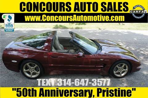 2003 Chevrolet Corvette for sale in Saint Louis, MO