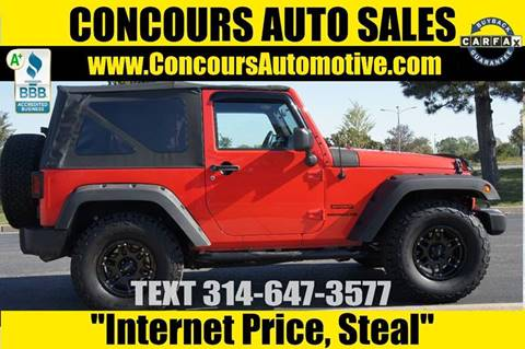 2013 Jeep Wrangler for sale in Saint Louis, MO