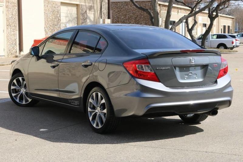 2012 honda civic si 4dr sedan in dallas tx dallas lease returns