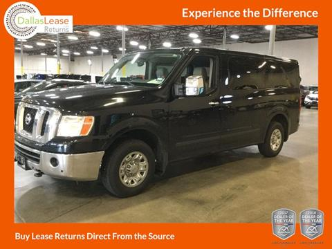 2016 Nissan NV Passenger for sale in Dallas, TX