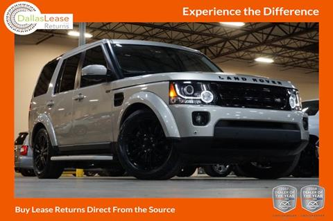 2015 Land Rover LR4 for sale in Dallas, TX