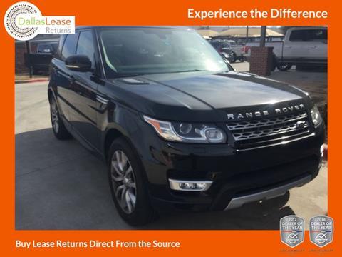 2015 Land Rover Range Rover Sport for sale in Dallas, TX