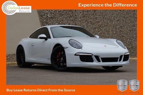 2015 Porsche 911 for sale in Dallas, TX