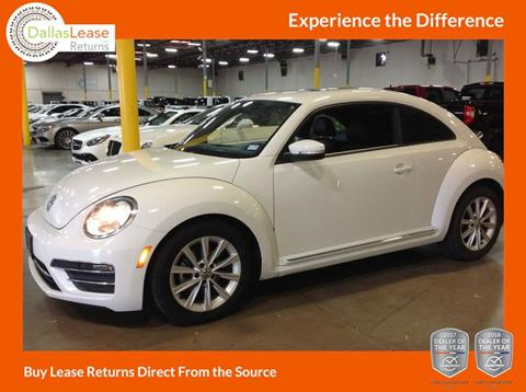 2017 Volkswagen Beetle for sale in Dallas, TX