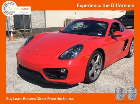 2015 Porsche Cayman for sale in Dallas, TX