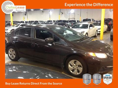 2014 Honda Civic for sale in Dallas, TX