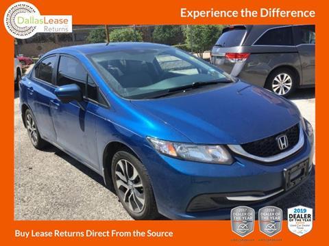 2015 Honda Civic for sale in Dallas, TX